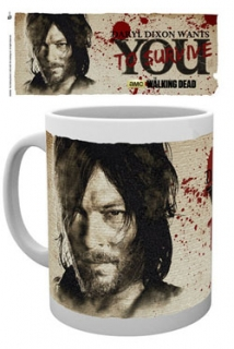 Hrnek Walking Dead Mug Daryl Needs You