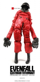 Figurka Security Red - Evenfall Strigoi Totemnaut Action Figure 1/6