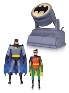 Figurky Batman & Robin with Bat-Signal - Batman The Animated Series 2-Pack