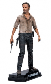 Figurka Rick Grimes - The Walking Dead TV Version Color Tops Figure