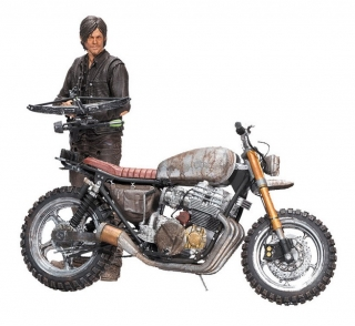 Figurka Daryl Dixon with Chopper Season 5/6 - The Walking Dead Deluxe Figure