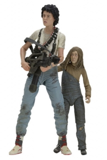 Figurky Ripley & Newt - Aliens Action Figure Deluxe 2-Pack 30th Anniversary