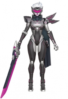 Figurka Fiora (PROJECT Skin) - League of Legends Legacy Collection Action Figure