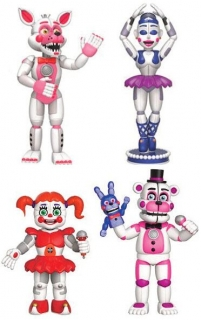 Figurky Sister Location - Five Nights at Freddy's Action Figures 4-Pack