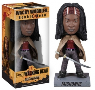 Figurka Michonne - The Walking Dead Wacky Wobbler Bobble-Head