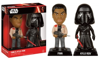 Figurka Finn & Kylo Ren - Star Wars Episode VII Bobble-Heads 2-Pack