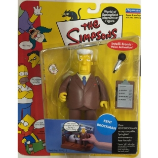 Figurka Kent Brockman -  The Simpsons Action Figure