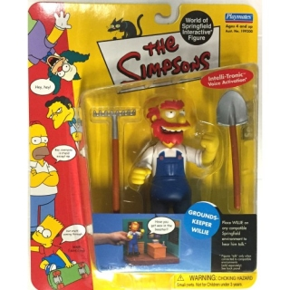 Figurka Grounds Keeper Willie -  The Simpsons Action Figure