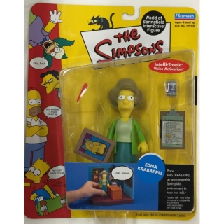 Figurka Edna Krabappel - The Simpsons Action Figure