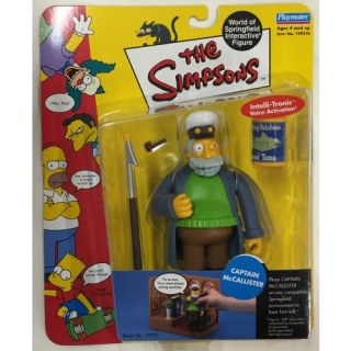 Figurka Captain McCallister - The Simpsons Action Figure