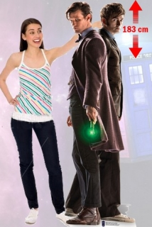 Kartonová postava The 10th & 11th Doctor Lifesize Cardboard Cutout