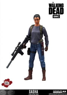 Figurka Sasha - The Walking Dead TV Version Action Figure