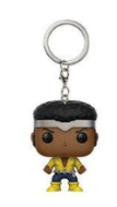 Přívěsek Luke Cage - Marvel Comics Pocket POP! Vinyl Keychain