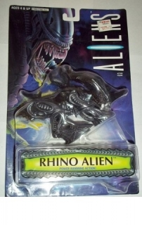 Figurka Rhino Alien Action Figure - Kenner 1996