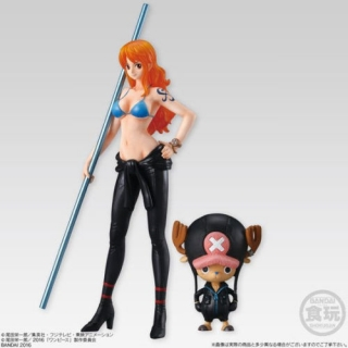 Figurky Nami & Chopper - One Piece Gold Styling Movie Collection Figure Vol. II