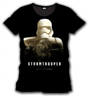 Tričko Star Wars Episode VII T-Shirt Stormtrooper Rule The Galaxy