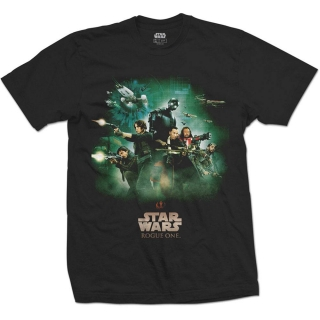 Tričko Star Wars Rogue One T-Shirt Rebels Poster