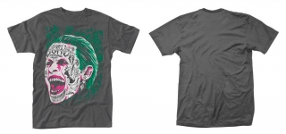 Tričko Suicide Squad T-Shirt Joker Tattooed Face