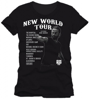 Tričko Walking Dead T-Shirt New World Tour