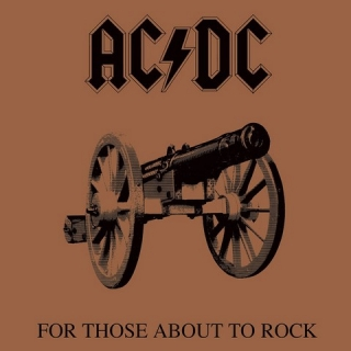 Obraz AC/DC Framed Canvas Print For Those About To Rock 40 x 40 cm