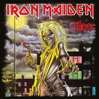 Obraz Iron Maiden Framed Canvas Print Killers 40 x 40 cm