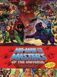 Kniha The Masters of the Universe Book A Character Guide and World Compendium
