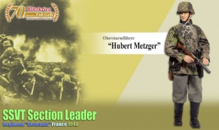 Figurka Obersturmfuhrer Hubert Metzger, SSVT Section Leader, Regiment