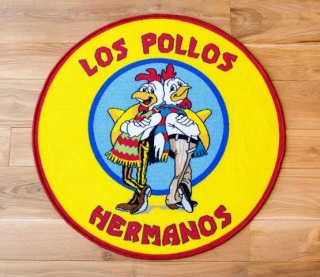 Koberec Breaking Bad Rug Los Pollos Hermanos 90 x 90 cm