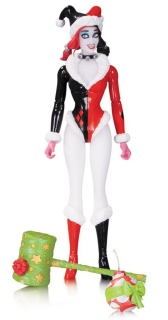 Figurka Holiday Harley Quinn by Amanda Conner - DC Comics Designer Figure