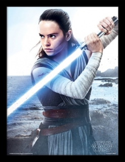 Obraz Rey Engage - Star Wars Episode VIII Framed Poster 45 x 33 cm