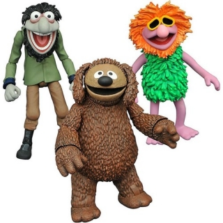 Figurky Rowlf & Crazy Harry - The Muppets Select Action Figures Series 3