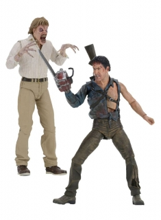 Figurky Hero Ash & Evil Ed 30th Anniversary - Evil Dead 2 Action Figures 2-Pack