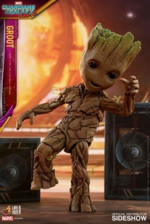 Figurka Groot Slim Version - Guardians of the Galaxy Vol. 2 Life-Size Masterpiece Action Figure