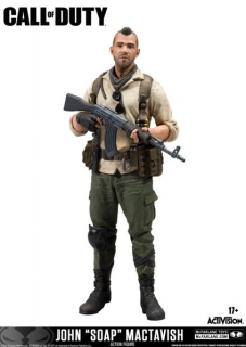 "Figurka John ""Soap"" MacTavish - Call of Duty Action Figure"