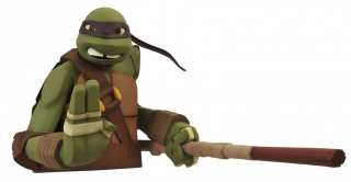 Pokladnička Donatello - Teenage Mutant Ninja Turtles Bust Bank