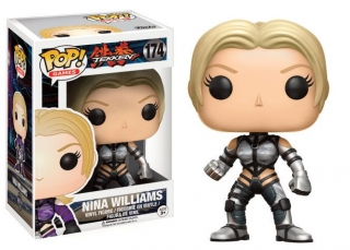 Figurka Nina Williams (Silver Suit) - Tekken POP! Games Vinyl Figure