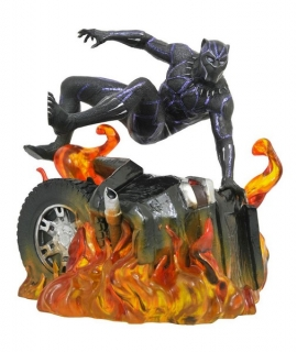 Soška Black Panther Version 2 - Black Panther Marvel Movie Gallery PVC Statue