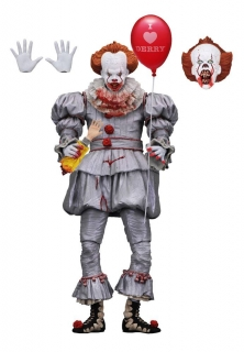 Figurka Ultimate Pennywise (I Heart Derry) - Stephen King's It 2017 Action Figure