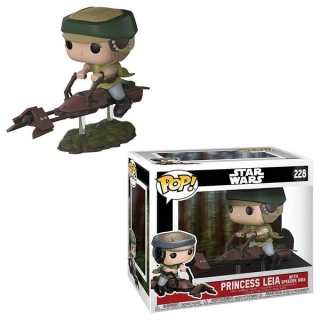 Figurka Leia with Speeder Bike - Star Wars POP! Movies Figure