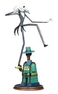 Soška Oogie's Lair Jack - Nightmare before Christmas Gallery PVC Statue