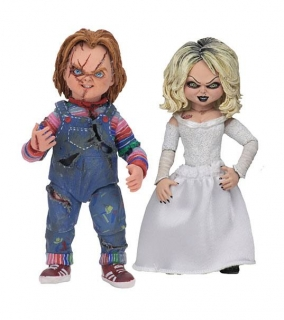 Figurky Chucky & Tiffany - Bride of Chucky Ultimate Action Figure 2-Pack