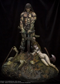 Soška Conan the Barbarian – Frank Frazetta 1/4 Scale Statue