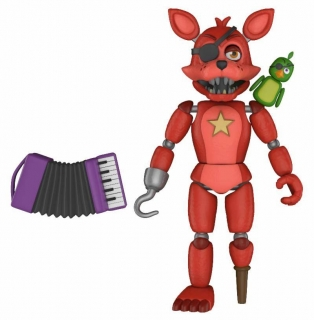 Figurka Rockstar Foxy - Five Nights at Freddy's Pizza Simulator Action Figure