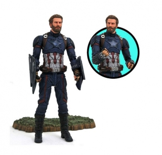 Figurka Captain America - Avengers Infinity War Marvel Select Action Figure