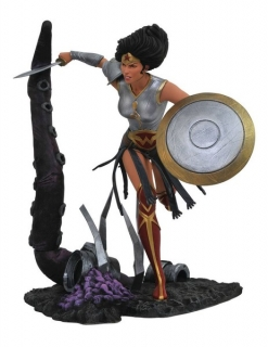 Soška Dark Nights Metal Wonder Woman - DC Comic Gallery PVC Statue