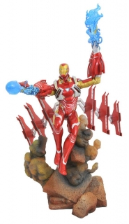Soška Iron Man MK50 - Avengers Infinity War Marvel Movie Gallery PVC Statue