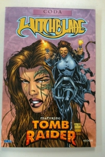 Comic book Witchblade Featuring Tomb Raider : Coda