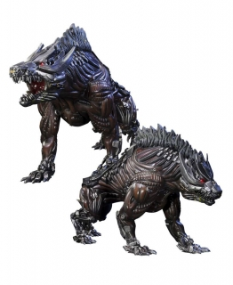 Sošky Steeljaw - Transformers Age of Extinction Statue 2-Pack
