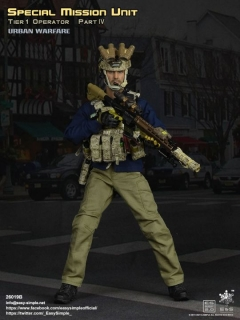 Figurka Modern US Forces:Special Mission Unit, Tier-1 Operator, Urban Warfare