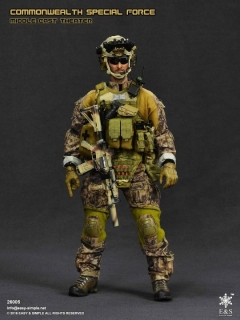 Figurka Modern British Forces: Commonwealth Special Force - Middle East Theatre